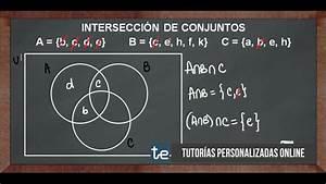 Intersecci U00f3n De 3 Conjuntos