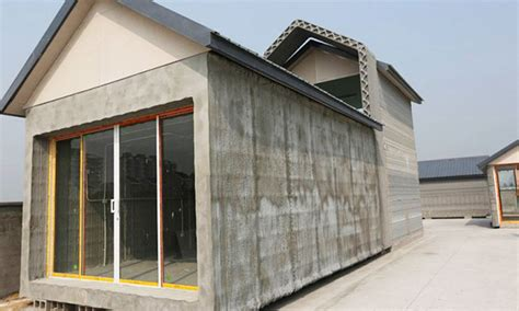 shanghai winsun decoration engineering co get a 3d printed home in just 24 hours for less than 6000