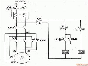 Wiring Diagram Single Phase Motor Contactor