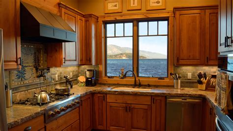 house kitchen interior design lakeshore mountain home mountain architects hendricks