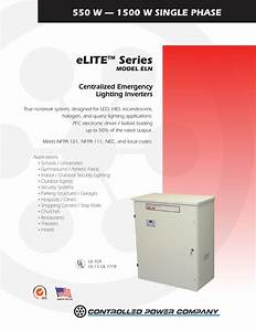 Elite Model Eln  550w To 1 5kw