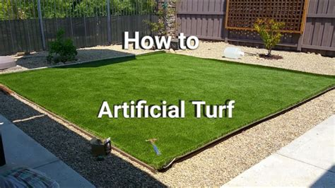 artificial turf installation save money