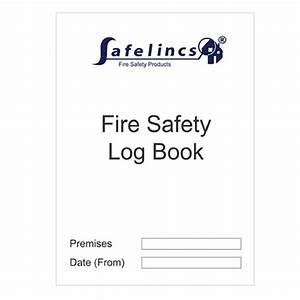 free fire safety logbook download now With fire alarm log book template