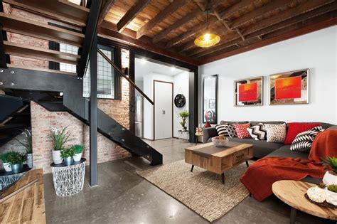 Cool Inviting New York City Loft by 20 ไอเด ย ตกแต งภายในสไตล Loft เท ด บ แต ไม ด Ihome108