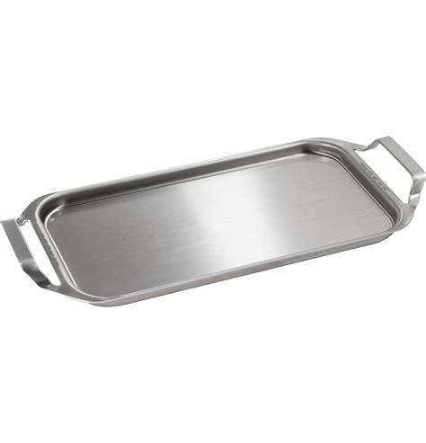 jxgridl stainless steel clad aluminum griddle ge appliances parts