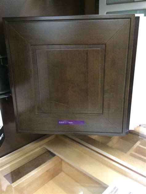 Kraftmaid cabinets  saddle on maple   Kitchen and Bath