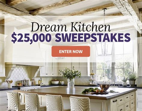 better homes and gardens sweepstakes better homes and gardens 25 000 kitchen sweepstakes