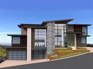 Exclusive, And, Unique, Modern, House, Plan, -, 85152ms