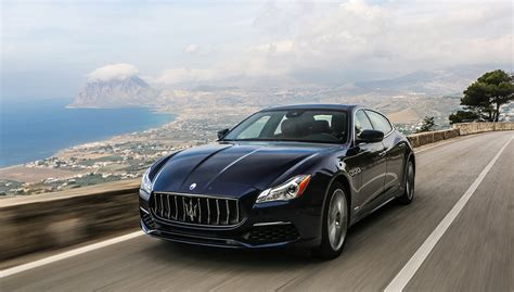 maserati quattroporte 2017 maserati quattroporte gets slight facelift and new