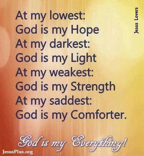 God Is My Everything Quotes
