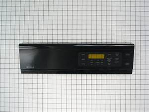 Wall Oven Control Panel  Black
