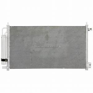 For Honda Accord 2003 2004 A  C Ac Condenser With Drier