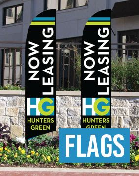 Curb Appeal Signs Banners Flags