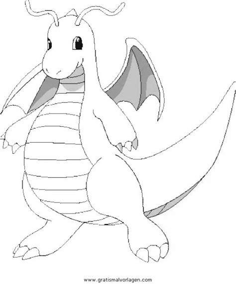 pokemon dragoran  gratis malvorlage  comic
