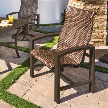 lakeside woven woven outdoor furniture tropitone