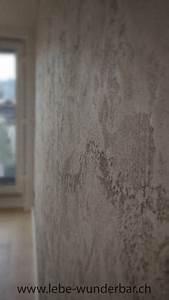 Wandgestaltung Vintage Look : wandgestaltung concrete travertino handarbeit ~ Lizthompson.info Haus und Dekorationen