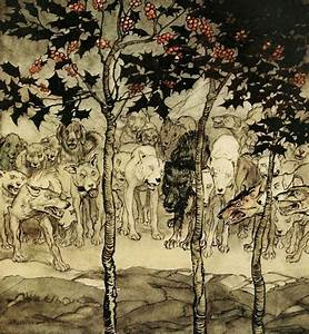 Arthur Rackham - Irish Fairy Tales by James Stephens, 1920 ...