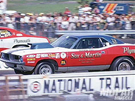 Ronnie Sox & Buddy Martin Plymouth Drag Racing
