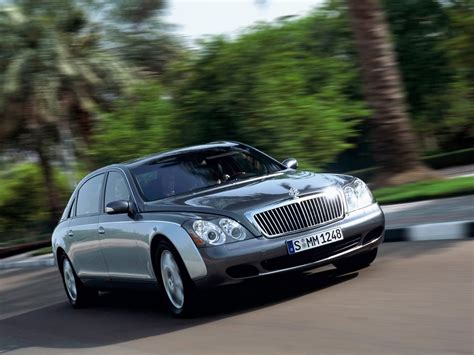 Maybach 62 Motion Front Right 2 1024x768 Wallpaper