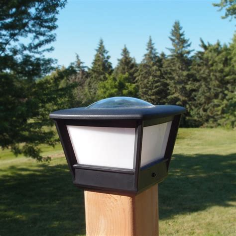 4x4 Fence Post Solar Light By Freelight 4x4 Post Cap