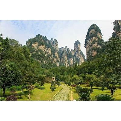 Panoramio - Photo of Zhangjiajie National Forest Park
