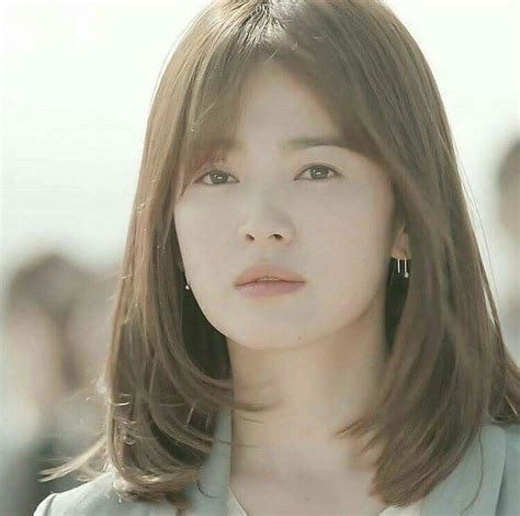 Song Hye Kyo Hairstyle by D O T S Song Hye Kyo In 2019 Song Hye Kyo Hair