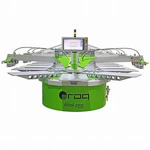 Oval Screen Printing Machine, ROQprint Oval Pro ...