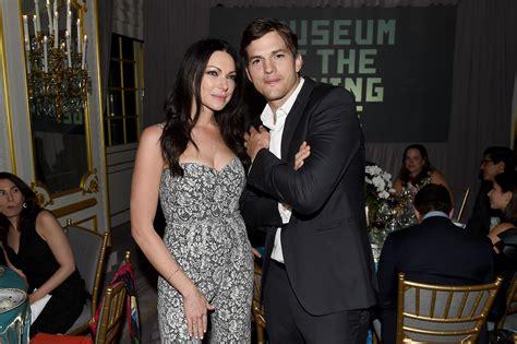 ashton kutcher calls  laura prepon  secret engagement