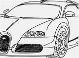 Coloring Cars Fast Super Race Bugatti Whitesbelfast Credit sketch template