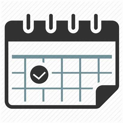 Icon Calendar Event Delivery Date Clipart Schedule