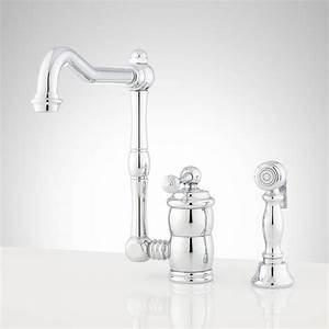 Mulder, Single-hole, Kitchen, Faucet, With, Side, Spray, -, Single-hole, Faucets, -, Kitchen, Faucets