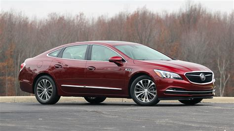 Buick Sedans by 2017 Buick Lacrosse Review Big Is Beautiful