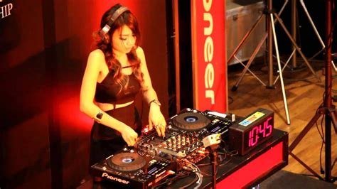 pioneer lady dj championship  semi final hd youtube