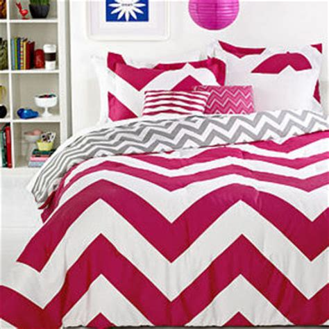 chevron pink 4 piece twin comforter set from macys my room