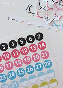 a tour of my 2016 planner with printable planner stickers With free printable number labels