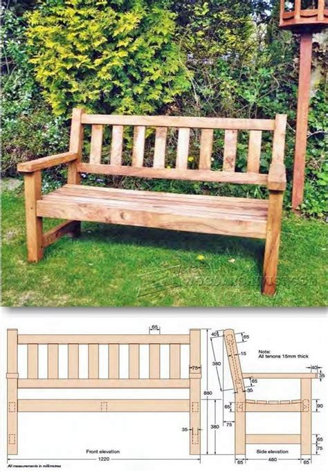 ideas  garden bench plans  pinterest wood bench designs diy garden benches