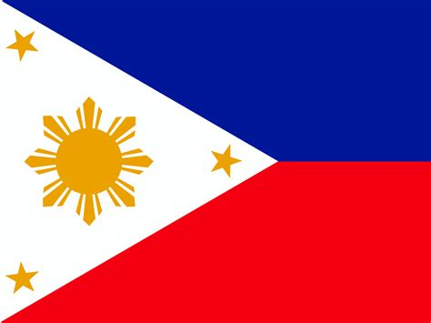 Philippines Flag Backgrounds  Blue, Flag, Red, White