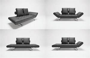 Canapé Lit Design : photos canap lit convertible design ~ Teatrodelosmanantiales.com Idées de Décoration