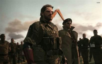 Gear Solid Metal Pain Phantom Wallpapers Boss