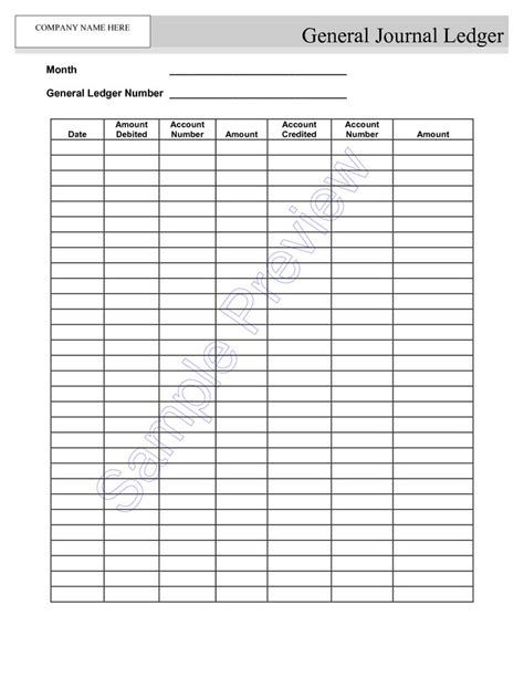 blank  employment ledger sheets google search