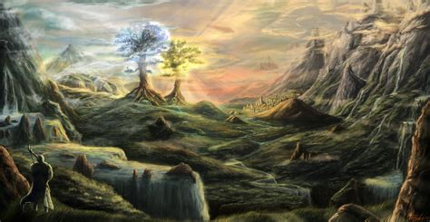 Cinema Et Valinor Image Valinor Jpg Wiki J R R Tolkien Fandom