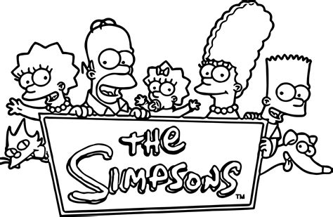 The Simpsons Coloring Pages (49 Images) - Class Teacher