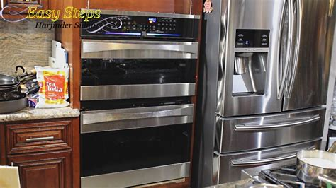 diy project   install wall oven ge monogram kenmore elite youtube