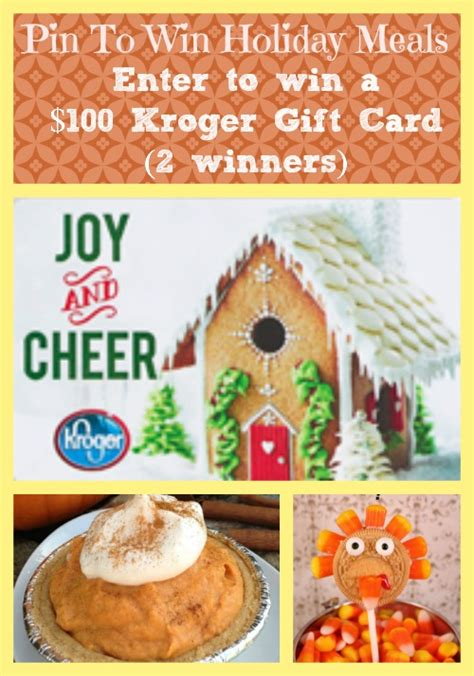 Order ingredients for your christmas meal online for pickup, delivery or shipping on some items. Pin To Win Kroger Holiday Meals - $100 Kroger Gift Card - CLOSED
