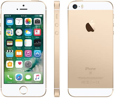 cheap t mobile iphone apple iphone se 64gb smartphone t mobile gold mint