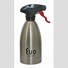 Evo Stainless Steel Oil Spray Bottle  Kitchen And Grill