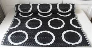 Outdoor Teppich Schwarz Weiß : pvc outdoor teppich l ufer moritz schwarz wei 75x200 cm flickenteppich flickenteppiche ~ Frokenaadalensverden.com Haus und Dekorationen