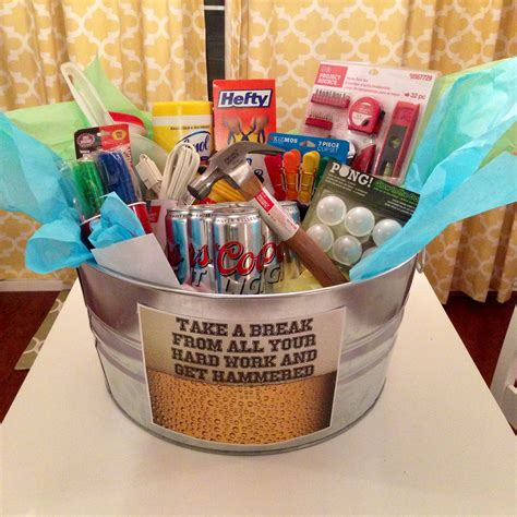 housewarming basket    boyfriend gifts
