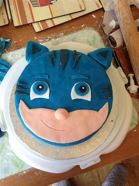 catboy pj masks birthday cake kinder geburtstagsideen