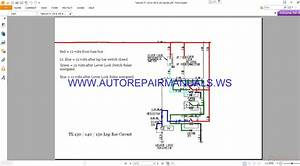Takeuchi Tl 130  U0026 140  U0026 150 Lap Bar Wiring Diagram Manual